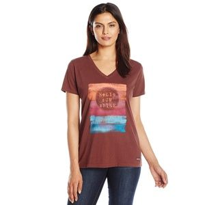 Women's Crusher Hello Sunshine Stripe T-Shirt